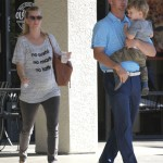 Pregnant Heather Morris Lunches With Family