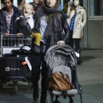 Olivia Wilde Touches Down With Otis