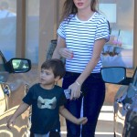 Miranda Kerr & Orlando Bloom Reunite for Family Day With Flynn