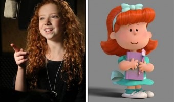 The Peanuts Movie – Interview With Francesca Capaldi – The Little Red Haired Girl