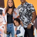 Tia Mowry & Family Attend The Peanuts Movie Premiere