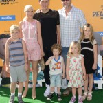 Tori Spelling & Family Attend The Peanuts Movie Premiere
