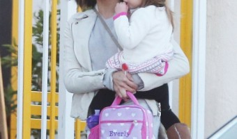 Jenna Dewan-Tatum Picks Up Preschool Princess – Daugther Everly