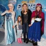 Alison Sweeney Poses With Anna & Elsa at the Premiere of Disney On Ice's Frozen