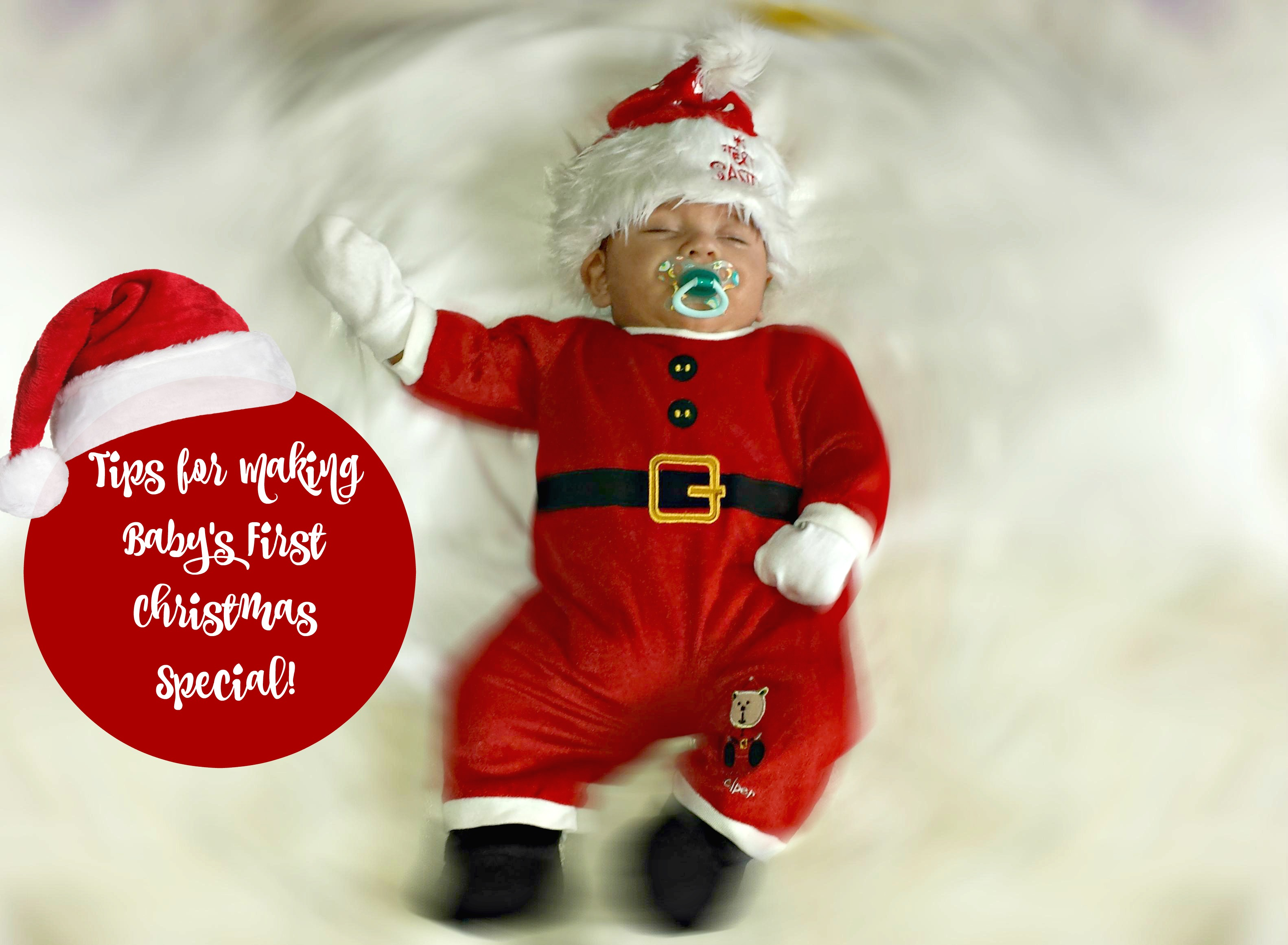 Tips for Making Baby's 1st Christmas Special