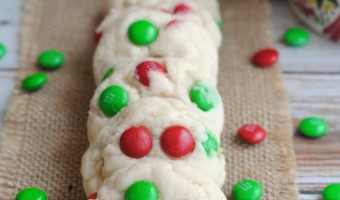 Simple, But Tasty Red & Green M&M'S Cookies