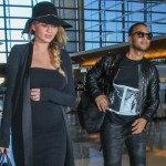 Chrissy Teigen & John Legend Jet off on Christmas Day