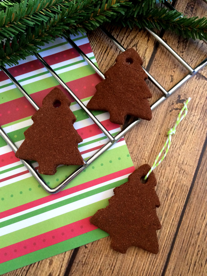 Christmas Tree Cinnamon Ornaments