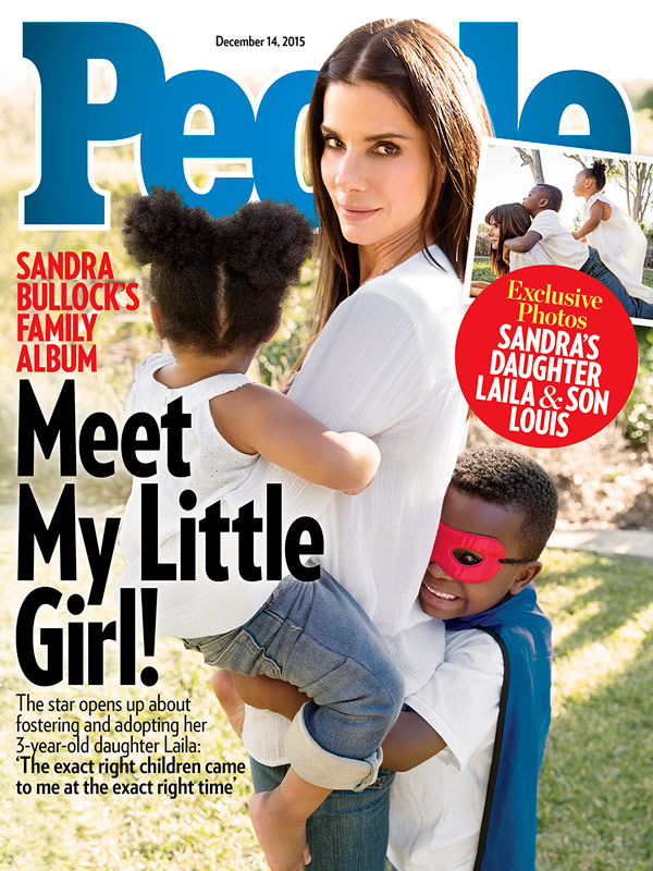 Sandra Bullock Adopts Girl