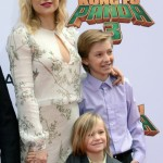 Kate Hudson Attends The Kung Fu Panda 3 Premiere With her Kids