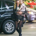 Kimberly Stewart and Daughter Delilah's Market Day Stroll