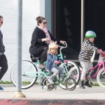 Melissa McCarthy Shares Active Lifestyle With a Family Bike Ride