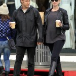 Anne Hathaway Looks Maternity Chic in Beverly Hills