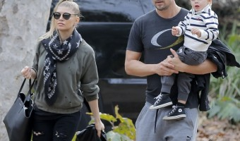 Fergie and Josh Duhamel's California Park Play Date With Son Axl