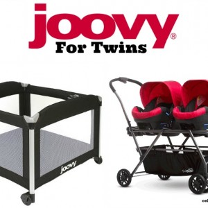 Joovy Must Have Products For Twins: Room² Playard & Twin Roo+