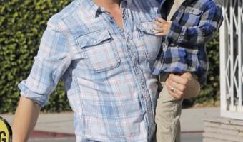 Josh Duhamel Has a Brunch Day With Axl