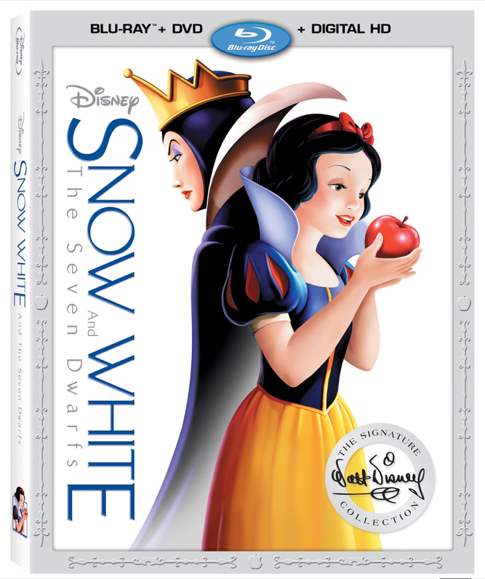 Snow White and The Seven Dwarfs on Blu-ray Combo Pack - The Walt Disney Signature Collection