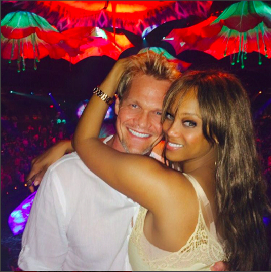 Surprise! Tyra Banks is a Mom