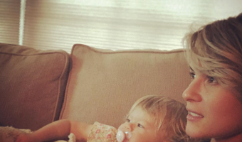 'B&B' News: Linsey Godfrey's Adorable Daughter Aleda Learning Yoga From Mommy Video