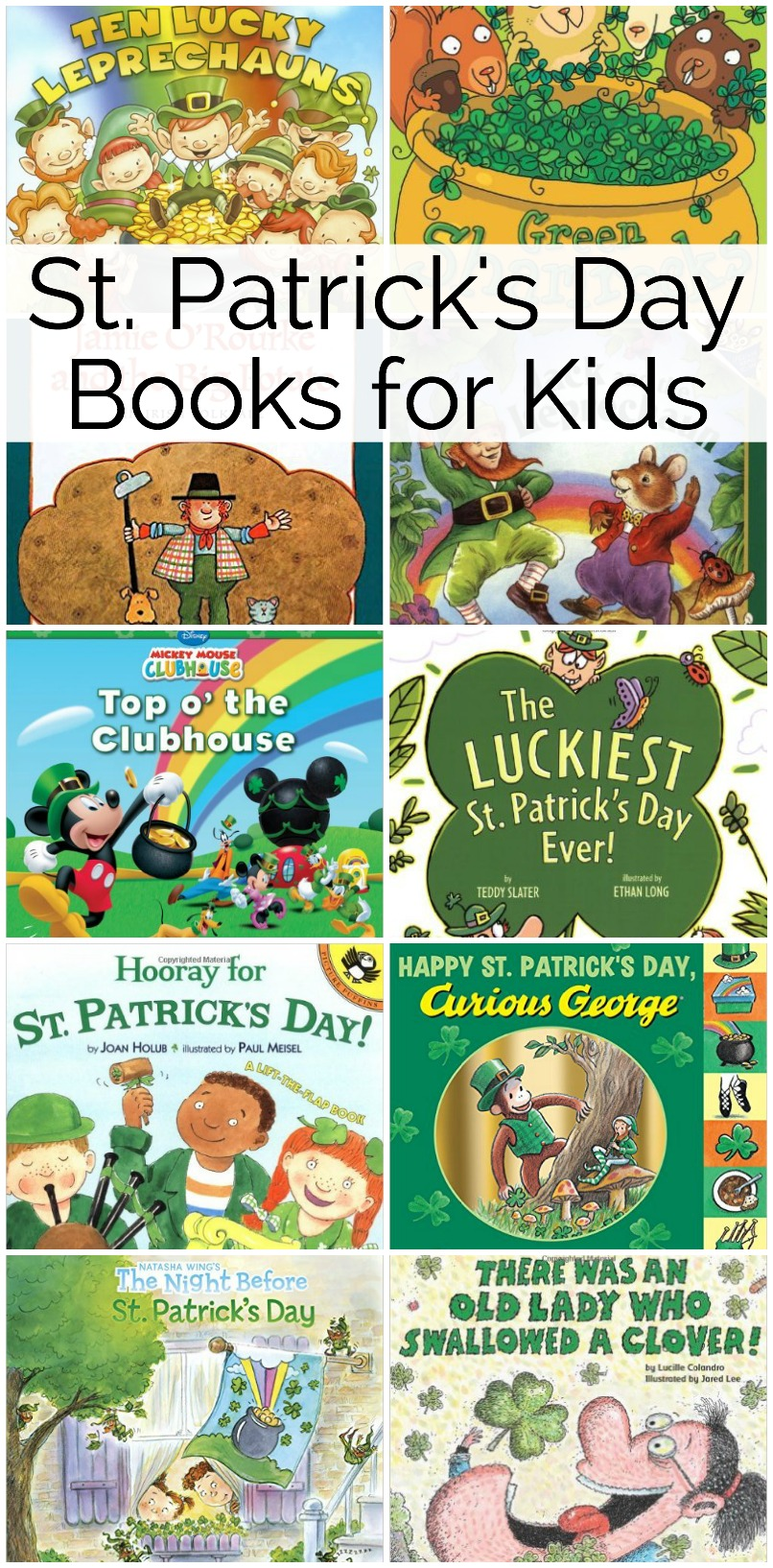 St. Patricks Day Books for Kids