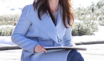 Pregnant Emily Blunt Films Scenes in the Big Apple