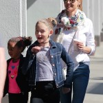 Heidi Klum Shops With her Girls