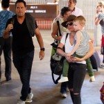 Hilary Duff & Ex Mike Comrie Vacation With Luca in Maui