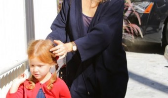 Jessica Alba & Haven Enjoy a Mother-Daughter Monday