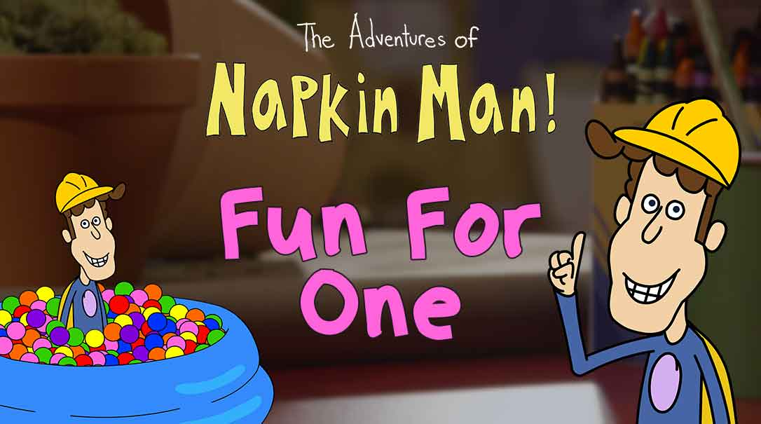 Emotion Learning For Preschoolers: Interactive Adventures of Napkin Man (Giveaway)