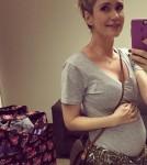Ashley Jones Baby bump 3