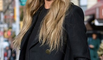 Pregnant Chrissy Teigen Poses for Pictures in New York City