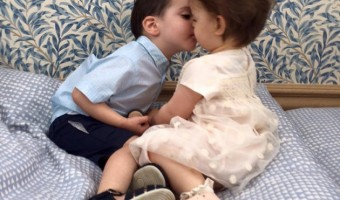 Simon Cowell and Terri Seymour Babies – Eric Cowell and Coco Seymour-Mallon Share Birthday Kiss
