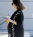 Exclusive... Pregnant Anne Hathaway Meets A Friend In Beverly Hills