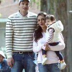 Mila Kunis and Ashton Kutcher Enjoy Family Park Day with Daughter Wyatt