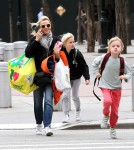 Naomi Watts Shops With Her Sons In NYC