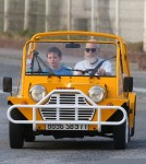 Exclusive... David Letterman & Son Harry Out For A Cruise In St. Barts