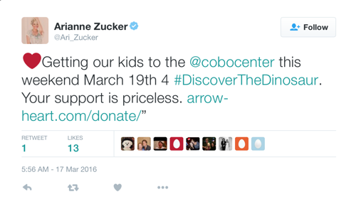 'Days Of Our Lives' News: Arianne Zucker Taking Kids to Arrow Heart Event - Encourages Followers To Donate