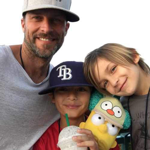 'Days Of Our Lives' News: Greg Vaughan Sons Have Fun With Hot Wheels