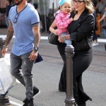 A. J. McLean Enjoys a Spring Day With Family