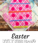 Easter Felt Egg Craft For Kids
