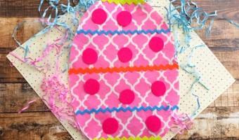 Easter Felt Egg Craft For Kids