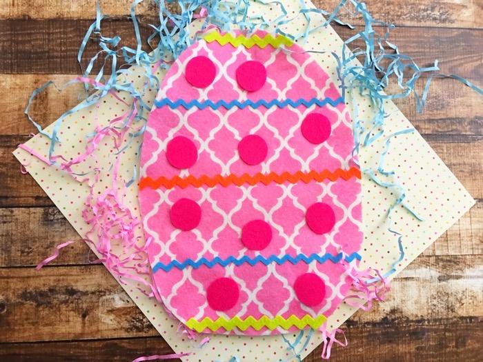 Last Minute Easter Fun: Easy-to-Make Felt Egg Craft For Kids