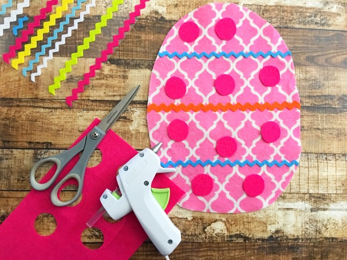 Last Minute Easter Fun: Easy-to-Make Felt Egg Craft For Kids
