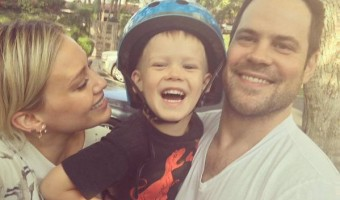 hilary duff, luca and mike