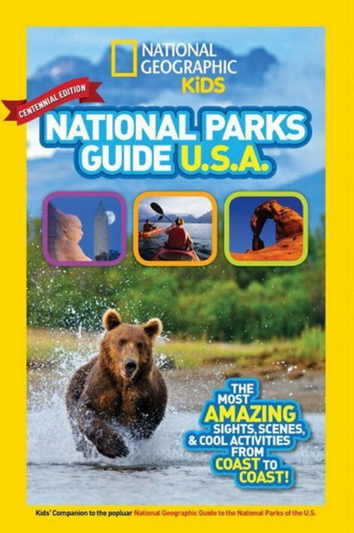 National Geographic Kids National Park & Junior Ranger Books - Get Your Children Excited About Exploring