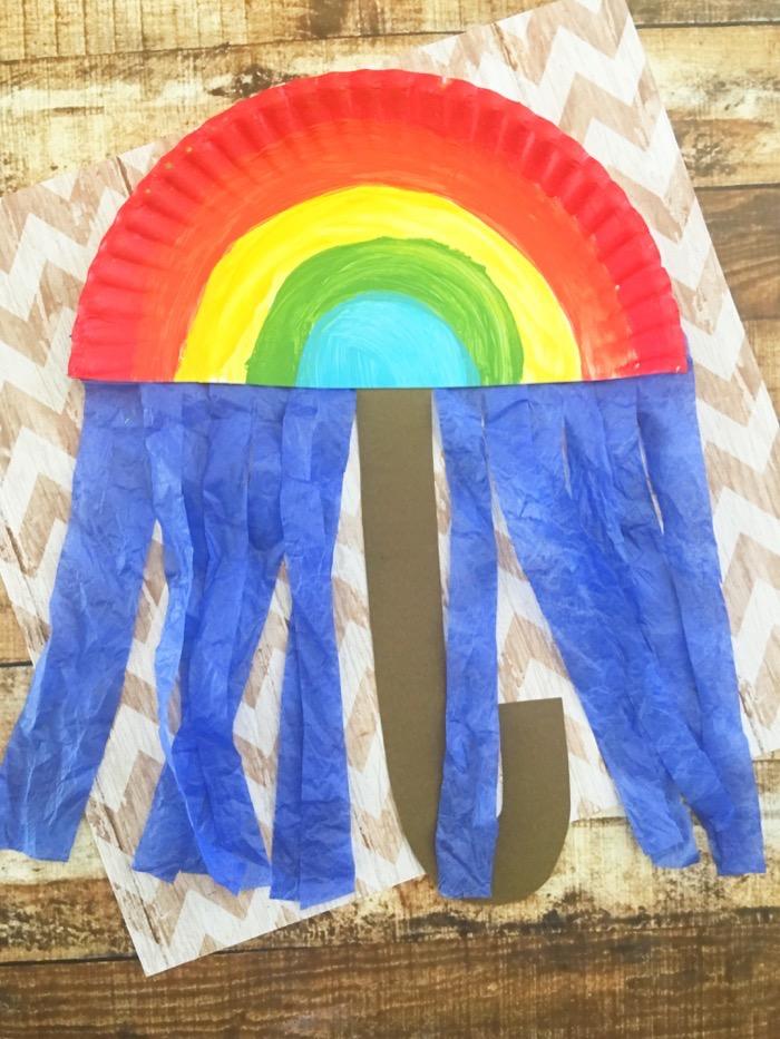 April Showers Umbrella Craft