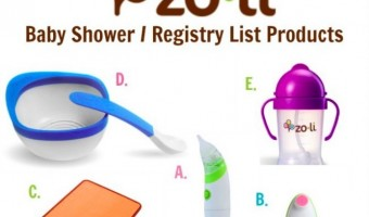 Great Baby Shower & Registry List Products From Zoli