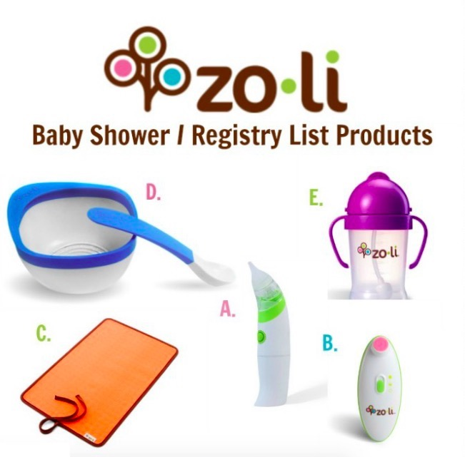 Great Baby Shower & Registry List Products From Zoli Baby