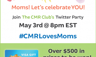 #CMRLovesMoms Twitter Party promo images copy