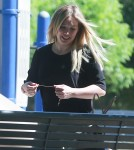 Hilary Duff Took Her Son To The Park